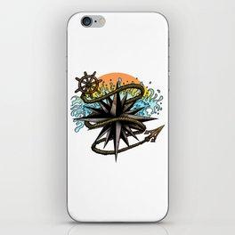 Nautical Splash iPhone Skin