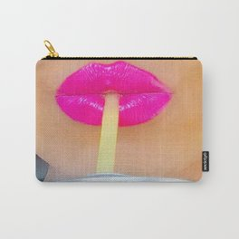 Lip Straw Carry-All Pouch