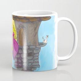 Rapunzel in her Tower Coffee Mug