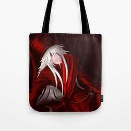 Undertaker in Red Tote Bag