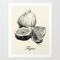 fig Art Prints featuring Fig by Benoit Springer