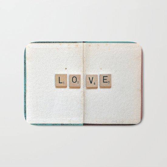 Book Love Bath Mat