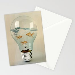 ideas and goldfish 03 Stationery Cards