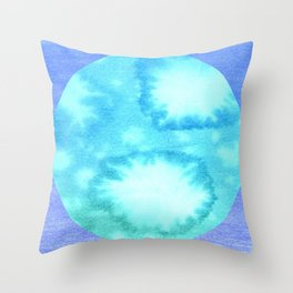 Ocean Cycle Throw Pillow
