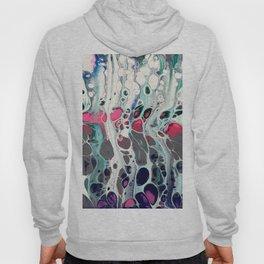 Tadaaaa - an abstract acrylic swipe Hoody