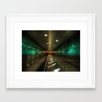 the lights Framed Art Prints featuring Lights by Svetlana Sewell