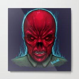 RedSkull Metal Print