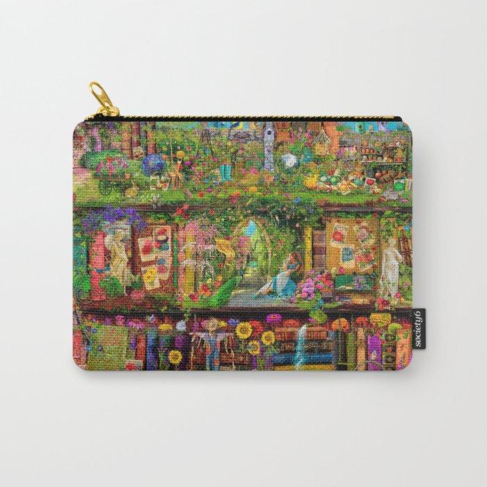 The Secret Garden Book Shelf Carry-All Pouch