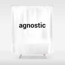 agnostic Shower Curtain