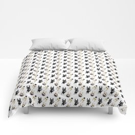 Hollow Knight Ending Pattern Comforters