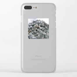 Aluminium Cubes ... Clear iPhone Case