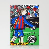 messi Stationery Cards featuring Messi by Rimadi