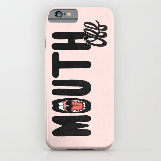 MOUTH OFF iPhone & iPod Case