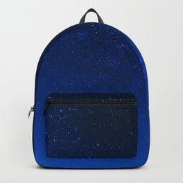 Blue Night Sky (Color) Backpack