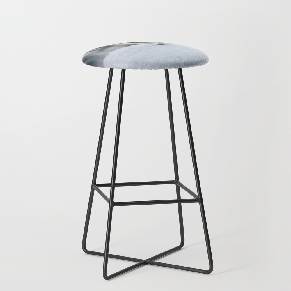 Robin Redbreast Bar Stool with Black Legs by Valzart (BST3880308) photo