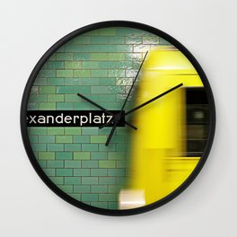 Reaching Alex Wall Clock
