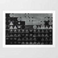 bybylyn_skys Art Print