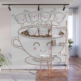 Marshmallow fun! Wall Mural