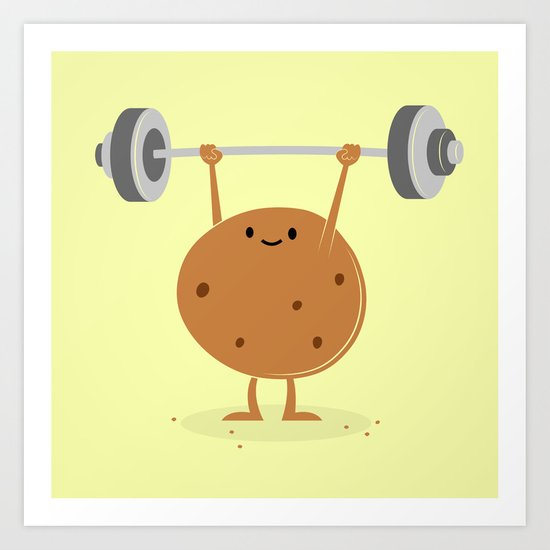 One Tough Cookie Art Print