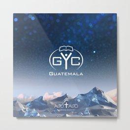 GYC - Xela Metal Print