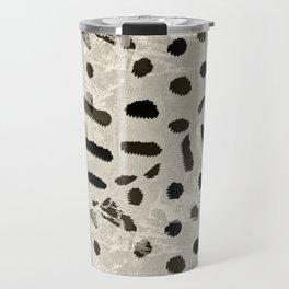 Caterpillars on gray Travel Mug