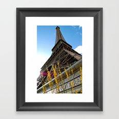Paris : Spring Tower Framed Art Print
