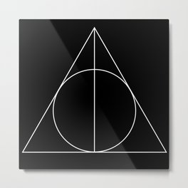 Geometry 02 Metal Print