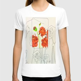 Perspective on Flowers T-shirt