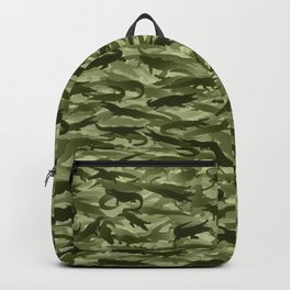 Crocodile camouflage Backpack