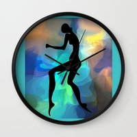 sound Wall Clocks featuring sound by tatiana-teni