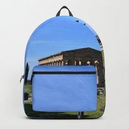 templi di paestum Backpack
