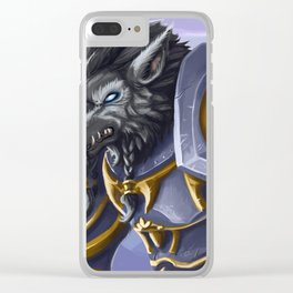 Grizzled veteran Clear iPhone Case