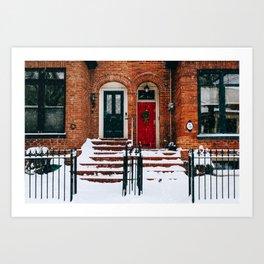 Cabbagetown - Toronto, Canada - #4 Art Print