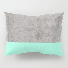 Sea on Concrete Pillow Sham