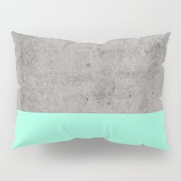 Sea on Concrete Pillow Sham