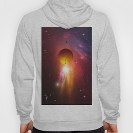 Star dust and interstellar gas. Hoody