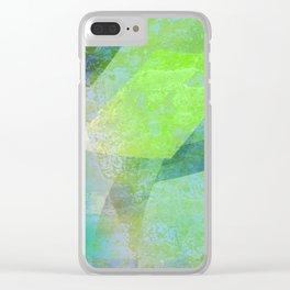 woozy 6b 1f det1 Clear iPhone Case
