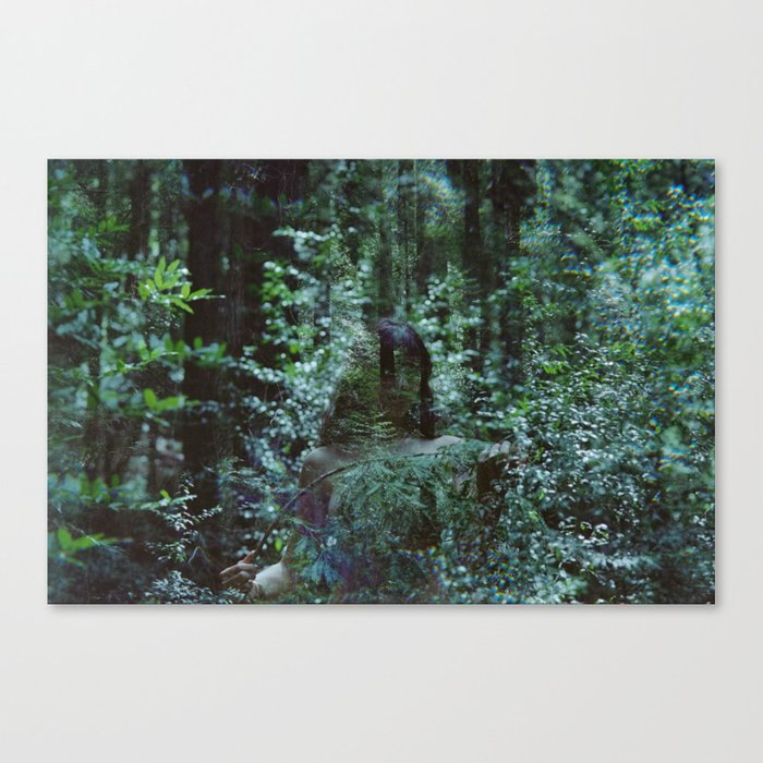 losing you to the wilds Canvas Print