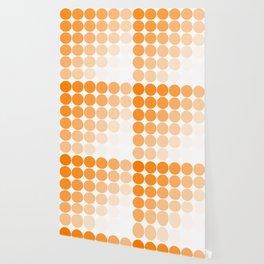 Orange Circle Color Charts Wallpaper