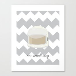 One Small Step Canvas Print