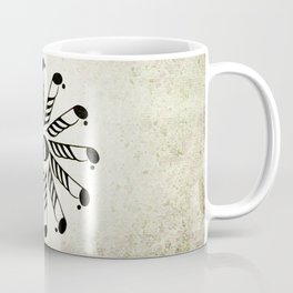 Vignette music note mandala Coffee Mug