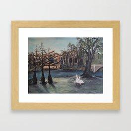La Hacienda -The Villages, Florida Framed Art Print