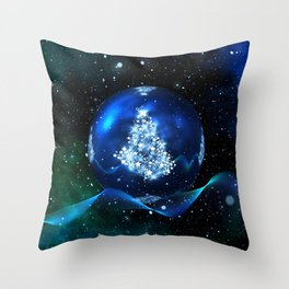 Christmas magic 5. Throw Pillow