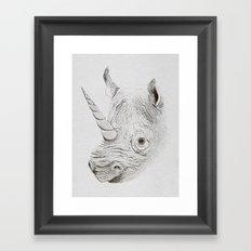Rhinoplasty Framed Art Print