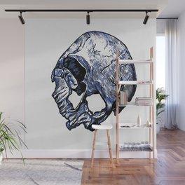 Human Skull Wall Mural