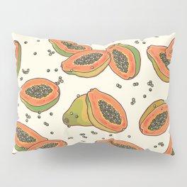 papaya pattern Pillow Sham