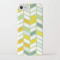 herringbone iPhone & iPod Cases featuring Herringbone by Jaybeak