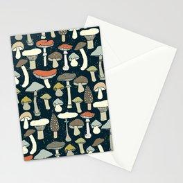 Magic Forest Mushroom Stationery Cards