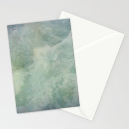 Turquoise Seafoam And Ocean Stationery Cards