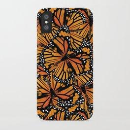 Monarch Butterflies iPhone Case